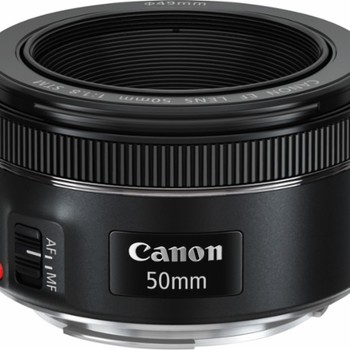 Rent Canon - EF 50mm f/1.8 STM Standard Lens - Black