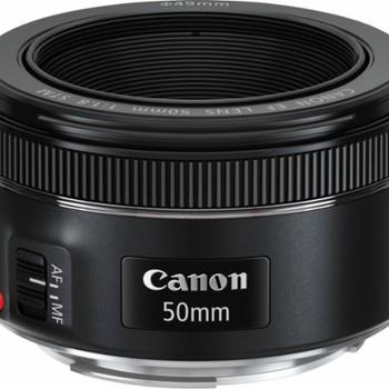 Rent Canon - EF 50mm f/1.8 STM Standard Lens - Black
