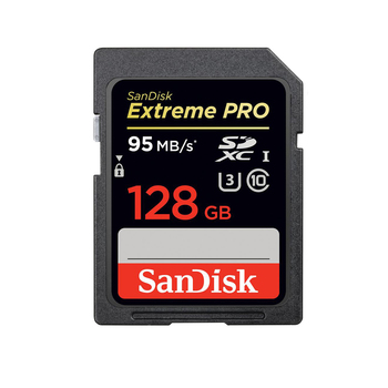 Rent SanDisk 128GB SDXC Extreme Pro Memory Card