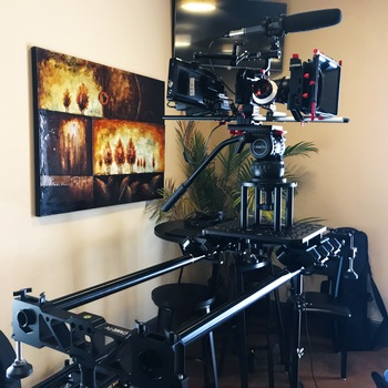 Rent CAME-SL03 Professional Slider w/ 3 Small C-Stands & Cart