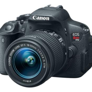 Rent Canon T5i + 75-300 Lens + 32GB Memory Card