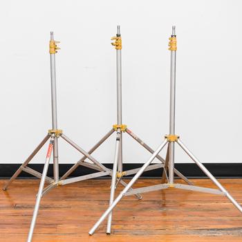 Rent Lowel Light Stand 9' (3x Stand Kit)