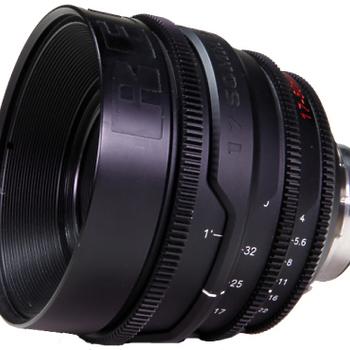 Rent Red 17-50mm T2.9 PL Mount Super 35 Zoom Lens