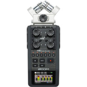 Rent Zoom H6 Recorder (Package Deal)