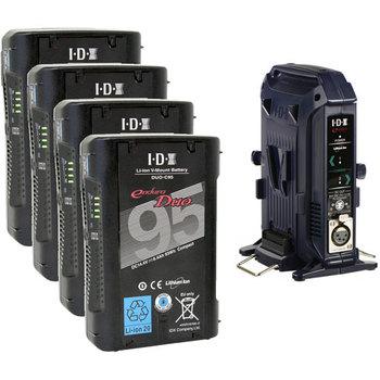 Rent IDX V-Mount Battery Package