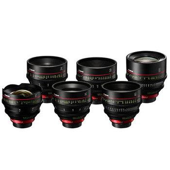 Rent Canon Cinema Prime Lens Set (EF)