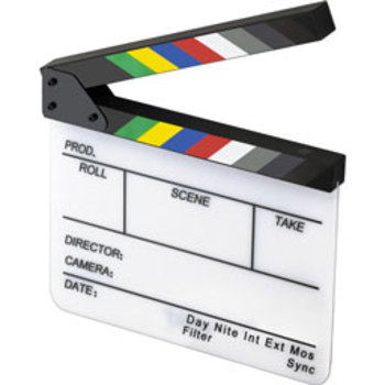 Rent slate with color bars