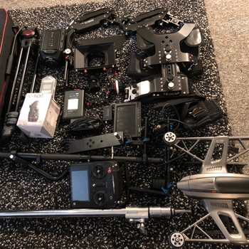 Rent Ultimate Ursa Mini Shooting Kit with Steadicam,  Drone and many other accessories!