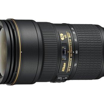 Rent Nikon AF-S NIKKOR 24-70mm f/2.8G ED Zoom Lens