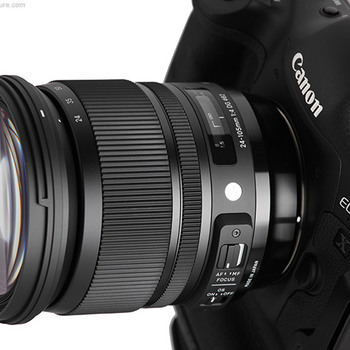 Rent 24-105mm f4 Sigma ART OSS zoom lens for Canon EF