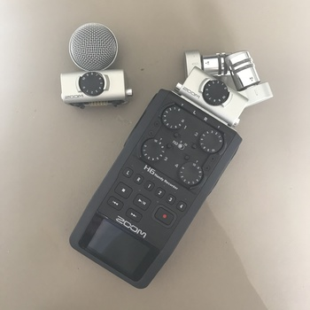 Rent Zoom H6 with XY + MS heads