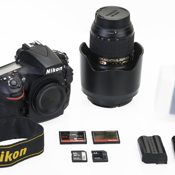 Rent Nikon D810 Photography Kit