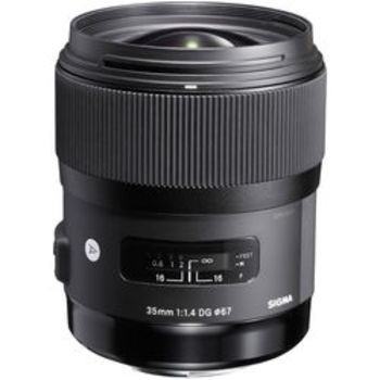 Rent Sigma 35mm F1.4 Lens -- Wide and Crisp Glass