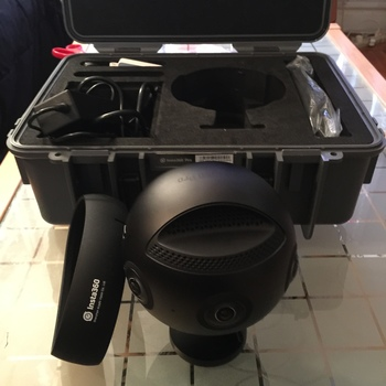 Rent Insta360 Pro 8K VR Camera Pack