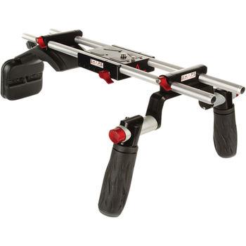 Rent C100, Shoulder Rig, Rokinon 5 Lens, Ninja Blade, Backpack