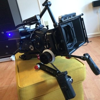 Rent Shoulder Mount for Ursa Mini Pro with Grip Relocator
