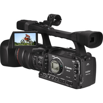 Rent Canon XH-A1 3CCD HDV Camcorder, 1080i, 16:9, 20x Lens, 24f Mode  W/BAG, HEADPHONES AND FREE TAPES