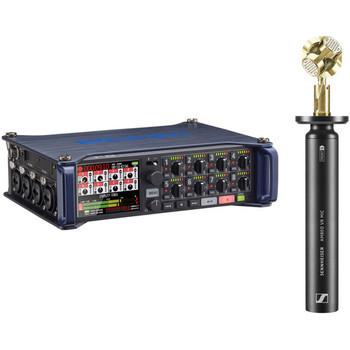 Rent Kit: Sennheiser Ambeo Mic + Zoom F8 Field Recorder