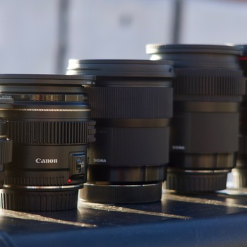 Rent Sigma Canon Lens Kit: 16-35 zoom, 24, 35, 50, 85 primes (with filters!)