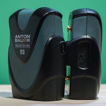 Rent  2 Anton Bauer 90 GoldMount Batteries + AB LP2 Charger