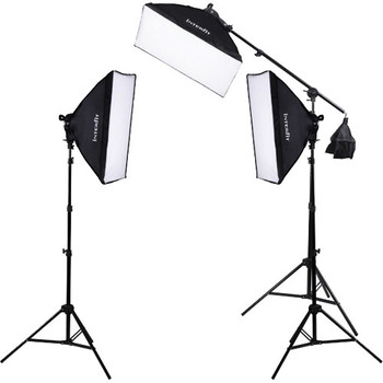 Rent Fluorescent Three-Head Lighting Kit