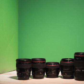 Rent Pick 3 Canon EF Lenses Set/Kit (24mm f/1.4L II, 35mm f/1.4L II, TS-E 24mm 3.5L, 50mm f/1.2L, 85mm f/1.2L II, 100mm f/2.8L IS, Tokina 11-16mm f/2.8, 16-35mm f/4L, 24-70mm f/2.8L II, 24-105mm f/4L IS, 70-200mm f/2.8L IS II)