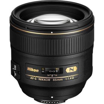 Rent Nikon AF-S FX NIKKOR 85mm f/1.4G Lens