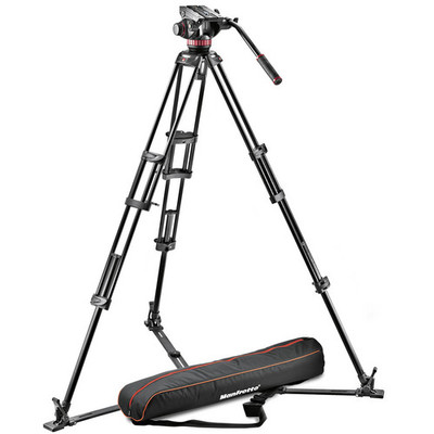 Manfrotto mvh502a 546gb 1 pro fluid video system aluminum 1379515713000 1005863