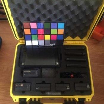 Rent 4K recorder Atomos Shogun/ 1250GB / 5 batteries