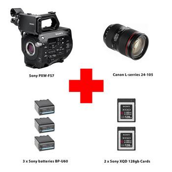 Rent Sony PXW-FS7 XDCAM Super 35 Camera