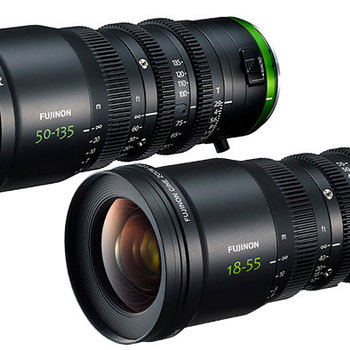 Rent Fujinon MK 18-55mm and 50-135mm - Two Lens Kit