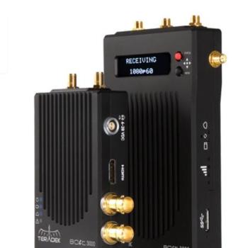 Rent Teradek Bolt 3000 SDI/HDMI (1Tx/1Rx) 1:1 w/SmallHD 702