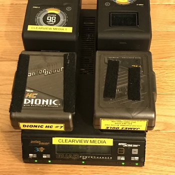 Rent Gold Mount Battery Kit