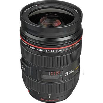 Rent Canon EF 24-70mm f/2.8L USM Autofocus Lens