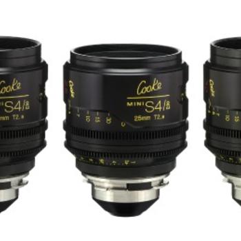 Rent Cooke Mini S4/i   5-Lens Set