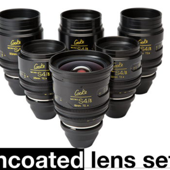 Rent Cooke Mini S4/i  6-Lens Set UNCOATED