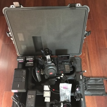 Rent Canon EOS C300 Mark II Cinema Camera