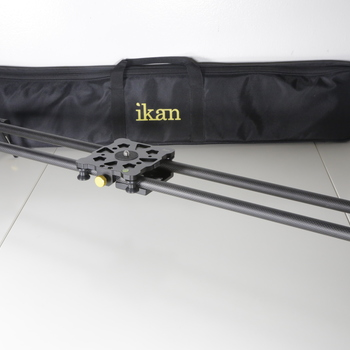 "Rent Ikan Carbon Fiber Camera Slider with 19mm Track Rails (31"")"