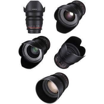 Rent Rokinon Cine DS Lens Bundle for Canon