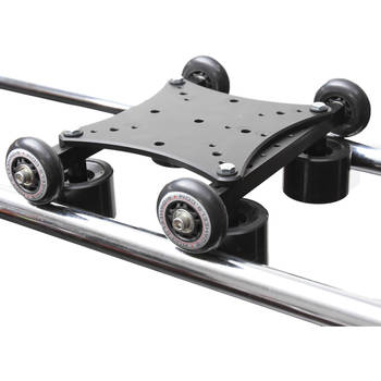 Rent RailDolly Camera Dolly Kit, (end barracks, 75mm, 100mm ball adapters, 6ft medal pipe track)