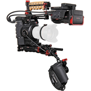 Rent C300mkii with Zacuto Z-finder Kit and bag