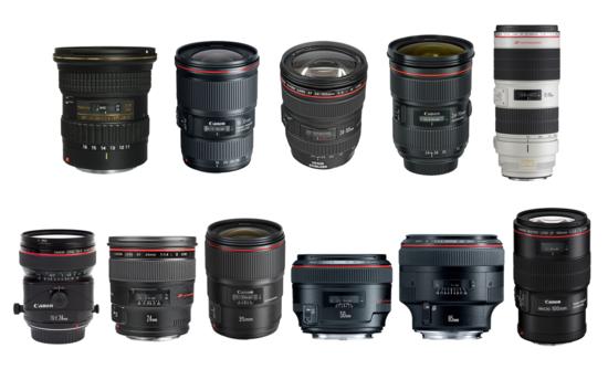 Lenses kit v1