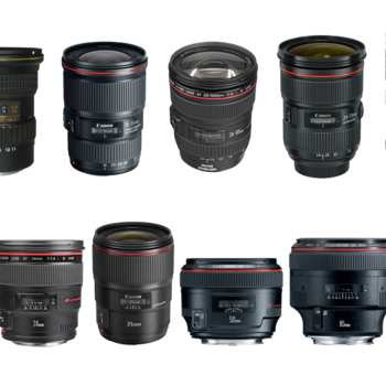 Rent Pick 4 Canon EF Lenses Set (24mm f/1.4L II, 35mm f/1.4L II, TS-E 24mm 3.5L, 50mm f/1.2L, 85mm f/1.2L II, 100mm f/2.8L IS, Tokina 11-16mm f/2.8, 16-35mm f/4L, 24-70mm f/2.8L II, 24-105mm f/4L IS)