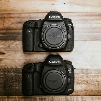 Rent Two Canon 5D Mark IV Bodies With Extras