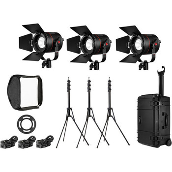 Rent Fiilex 3-Light LED Travel Kit