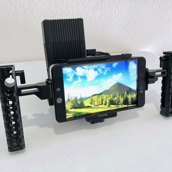 Rent SmallHD 702 Bright + Teradek Bolt 500 Wireless + Cage