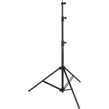 Rent Impact Heavy-Duty Air-Cushioned Light Stand (Black, 9.5')