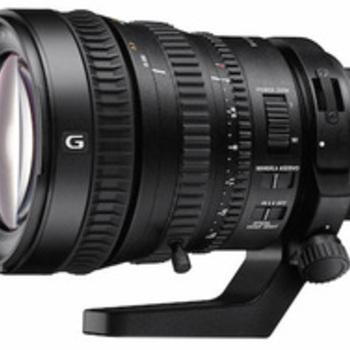Rent Sony FE PZ 28-135mm F4