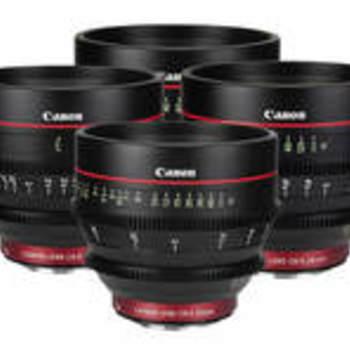Rent Canon CN-E Primes (24, 35, 50, 85)