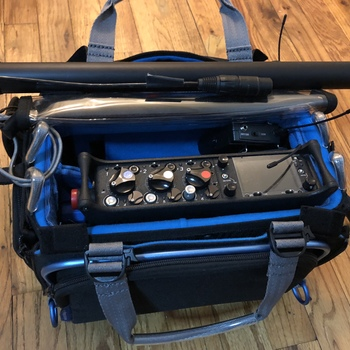 Rent Sound Devices 633 Location Audio Recording Kit w/ 1 Sennheiser Wireless Lav, 1 Sanken COS11D Mic, Boom Pole and AT4073A Shotgun